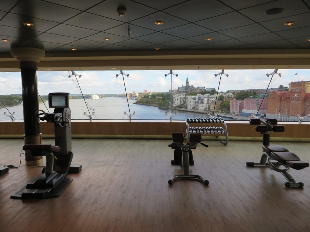Gymmet med fantastisk utsikt