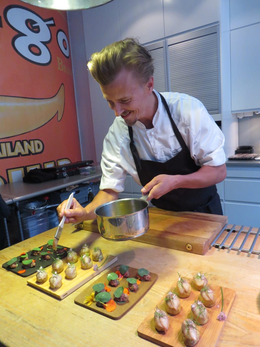 Paul Svensson in action