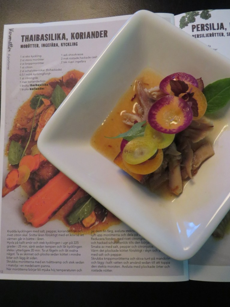 Thaibasilika & Koriander: Morötter, ingefära, kyckling