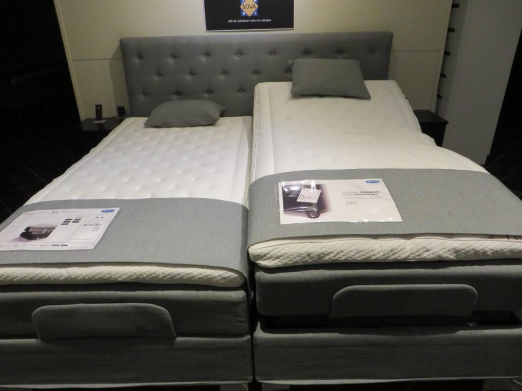 Justerbar säng från Jensen