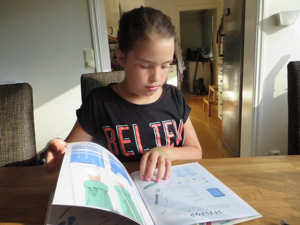 Filippa inspireras av nya boken