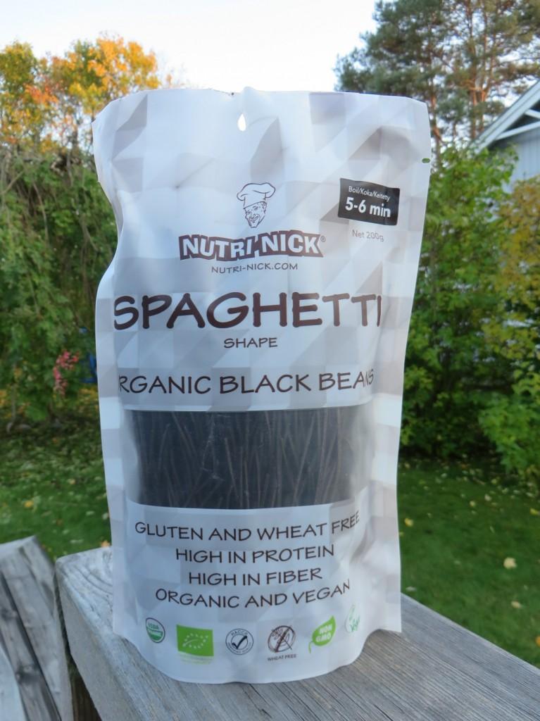 Nutri-Nick Black Bean Spaghetti
