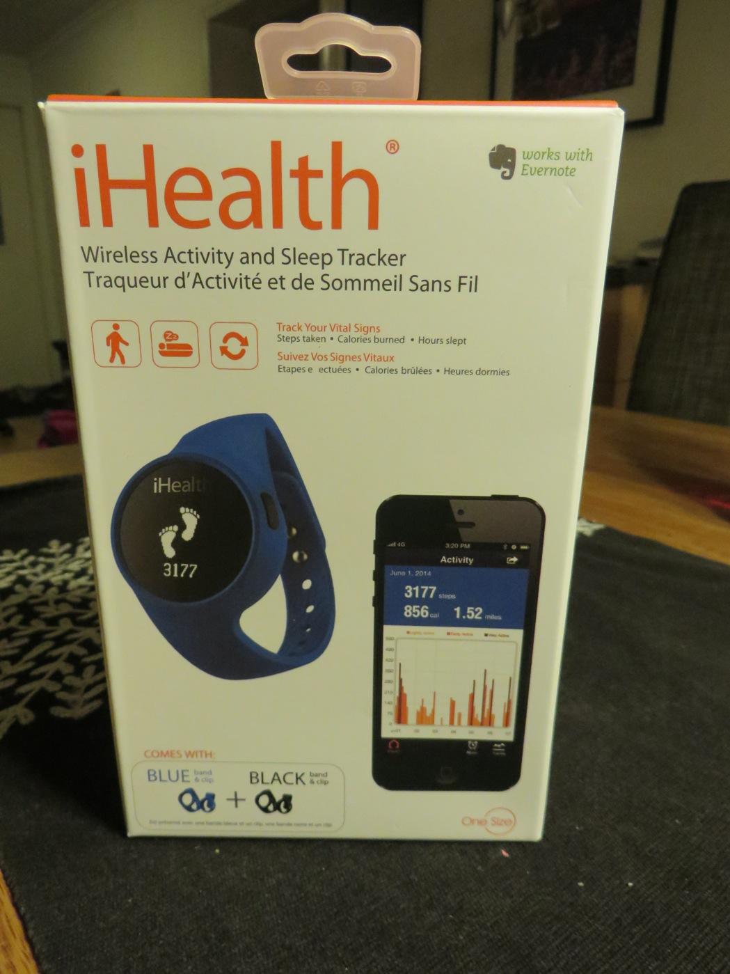 iHealth, en ny aktivitetsmätare