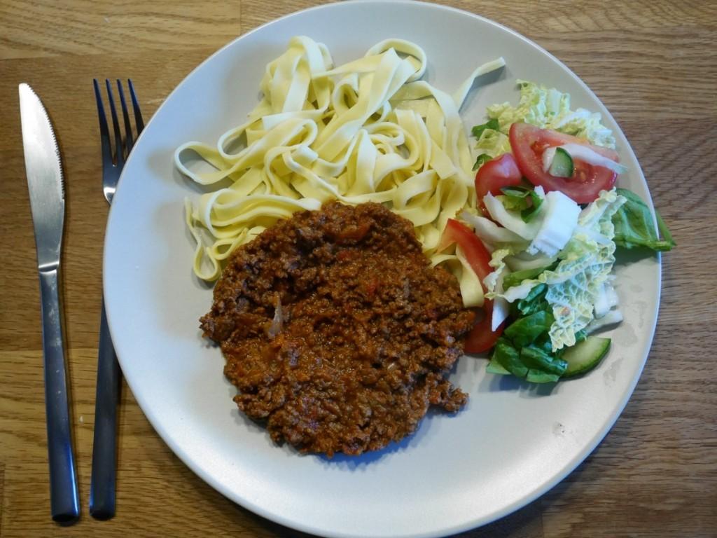Magiskt god köttfärssås i Crock-Pot