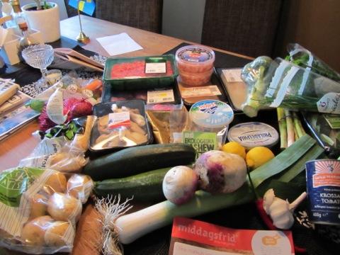 Middagsfrid matleverans
