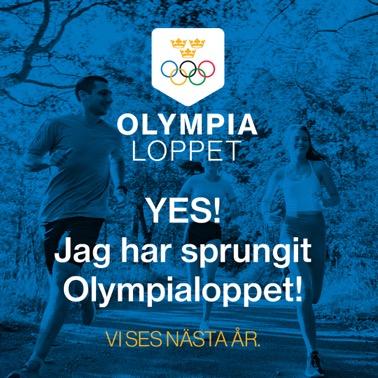 Yes för Olympialoppet!