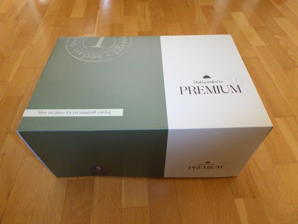 Leverans av Matkomfort Premium.