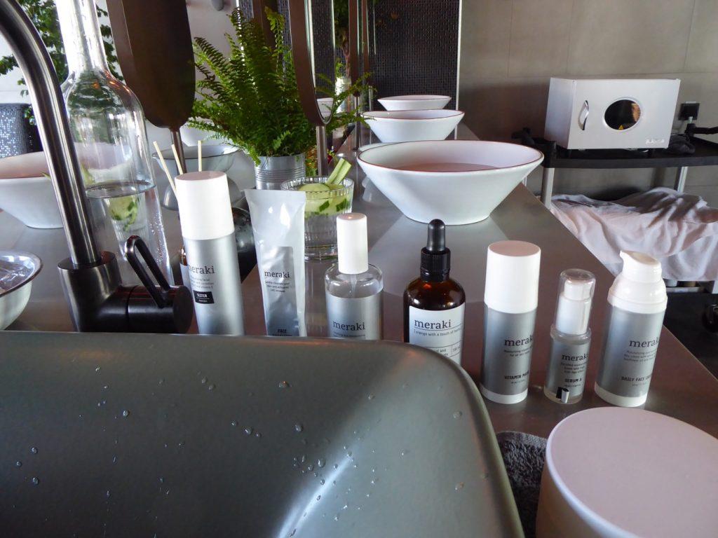 Produkter från Meraki som vi gick igenom steg för steg.