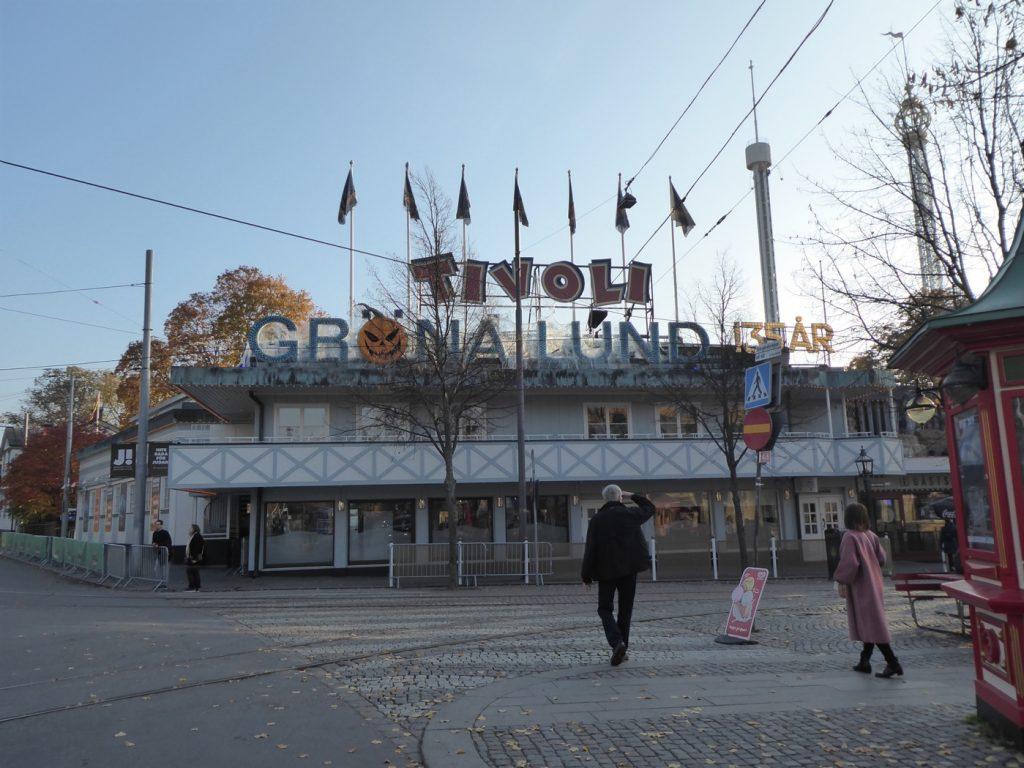 Halloween på Gröna Lund 2018