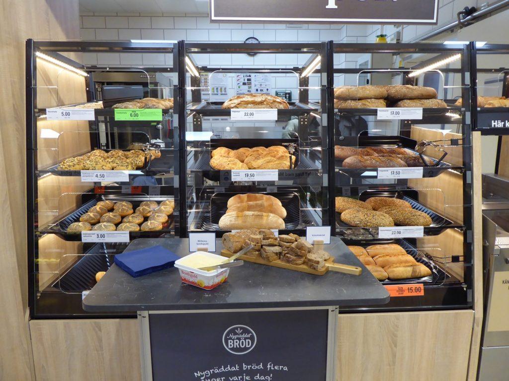 Se till att ni köper med er något av alla goda bake-off bröd. Valnötslimpan var to-die-for!