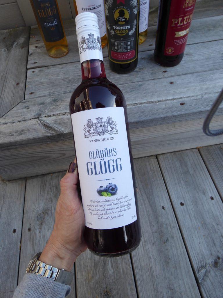 Blåbärsglögg från Vinfabriken.