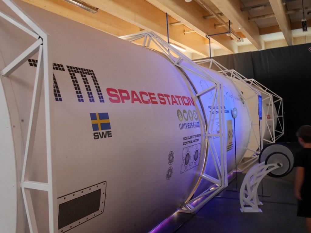 En rymdstation.
