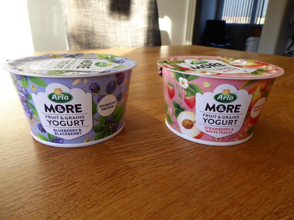 Yoghurten var helt okej men föredrar krisp ovanpå istället för inblandat i yoghurten.