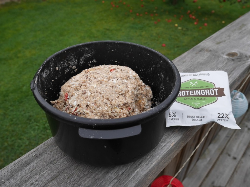 Proteingröt i degen för ännu hälsosammare hälsobröd!