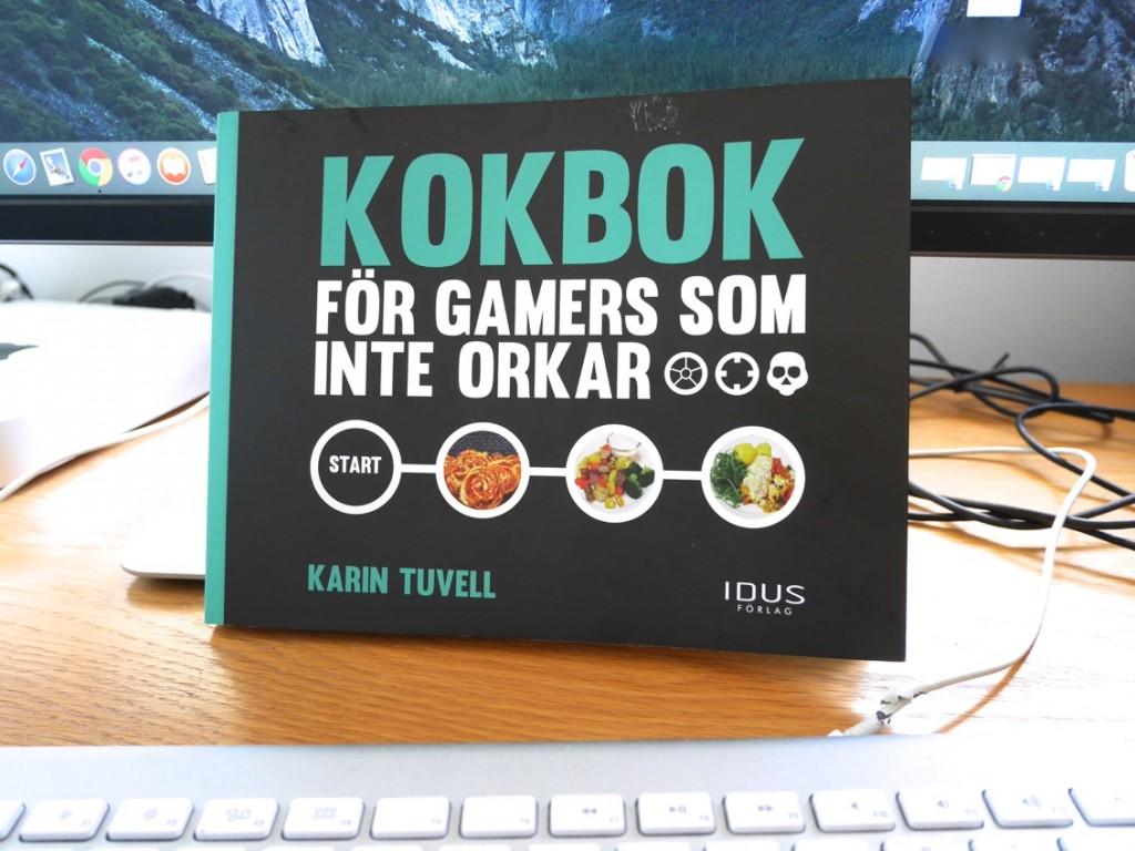 Kokbok för gamers som inte orkar