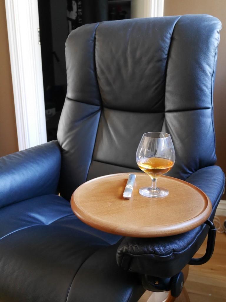 Cognac och cigarr efter en god middag!