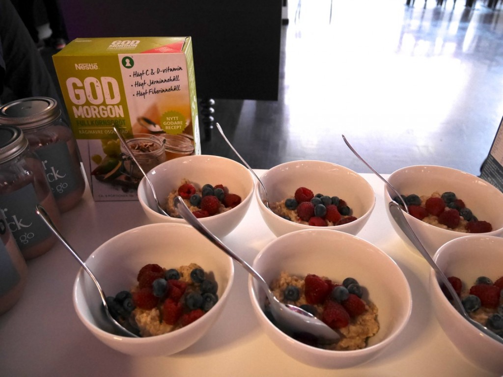 En hälso- och träningsinspirerad frukost