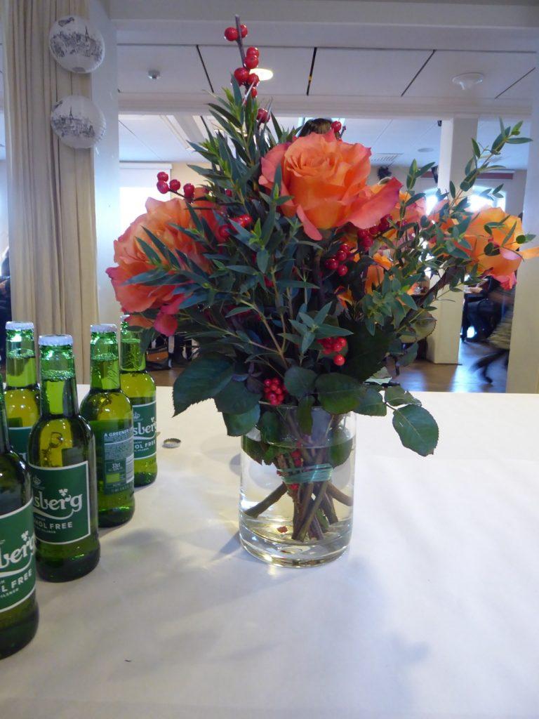 En vårpresentation kräver vårfina blommor!