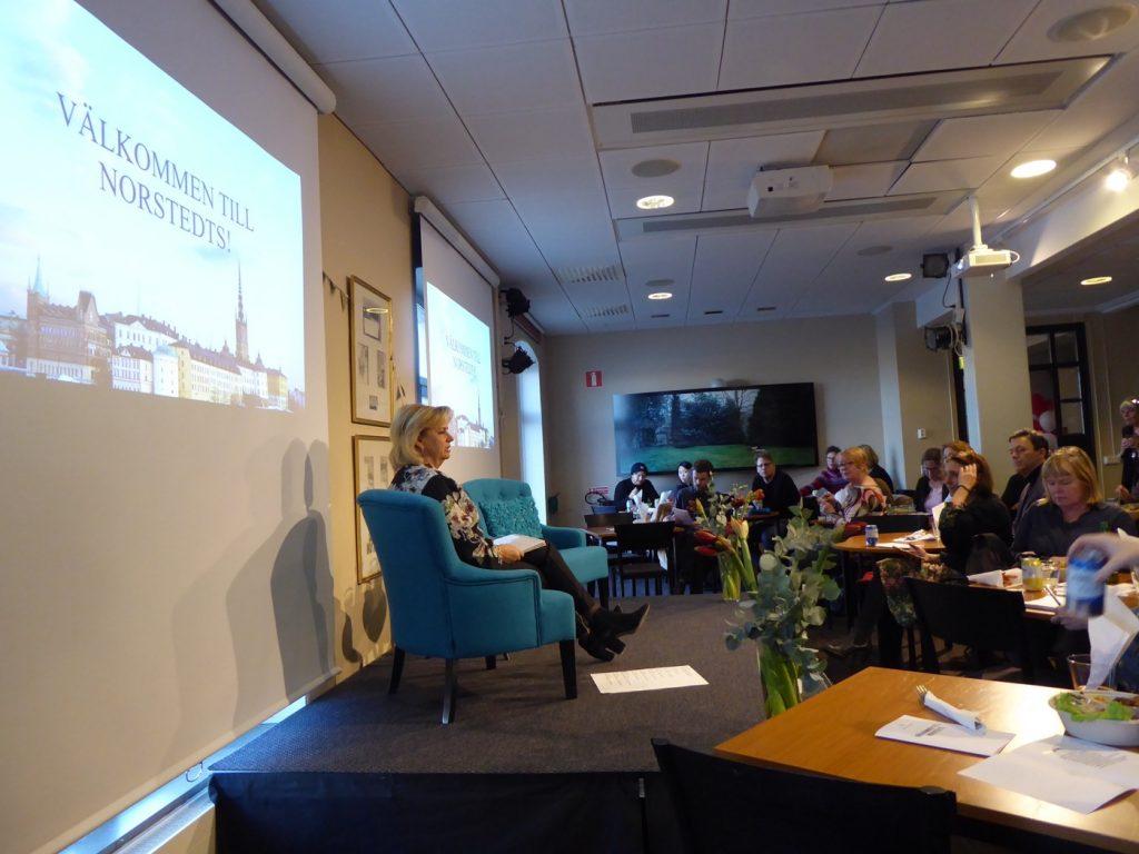 Moderator Marianne Rundström