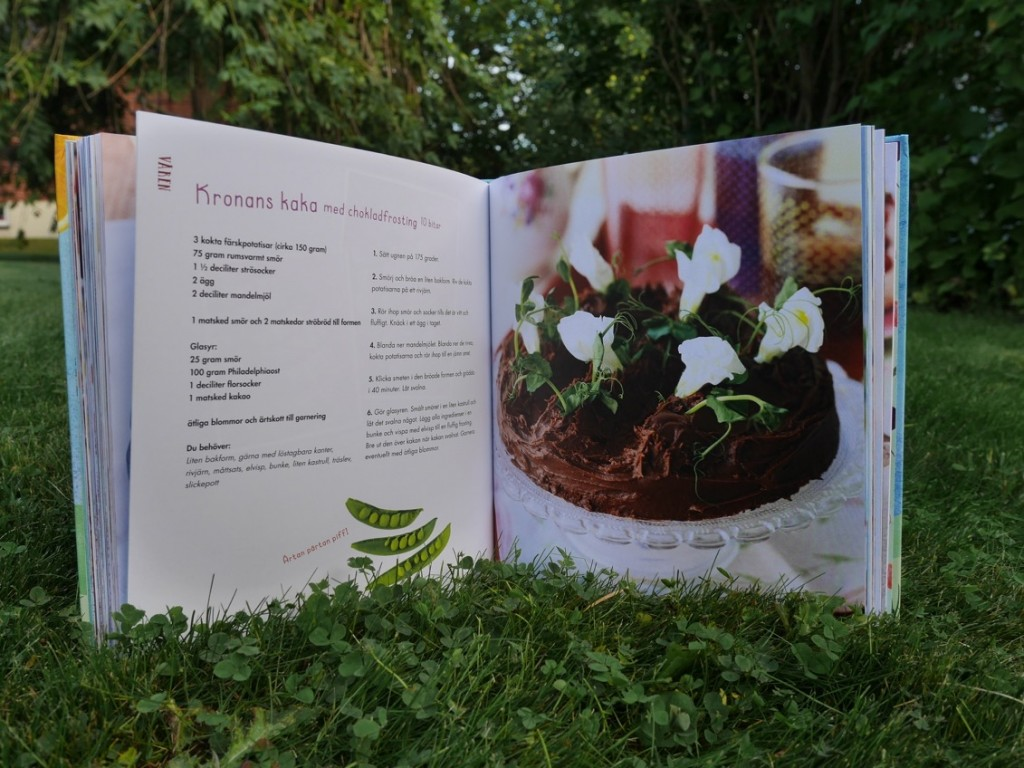 Kronans kaka gjord på bland annat potatis.