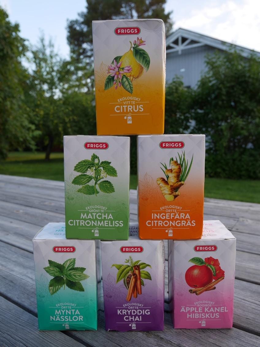 friggs grönt te
