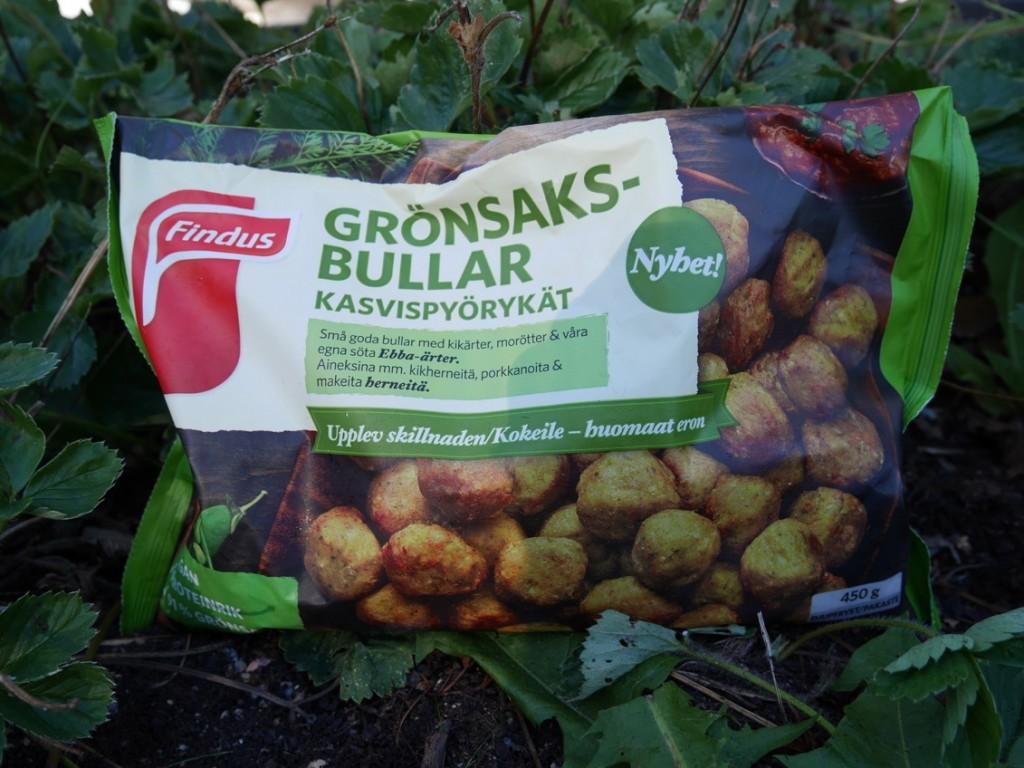 Veganska och proteinrika grönsaksbullar