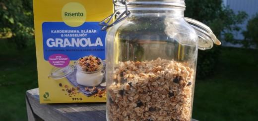 Nytt recept för Risenta Granola