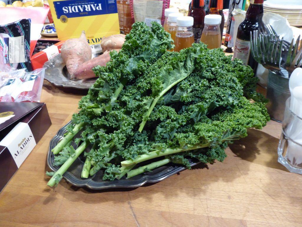 Älskar grönkål!