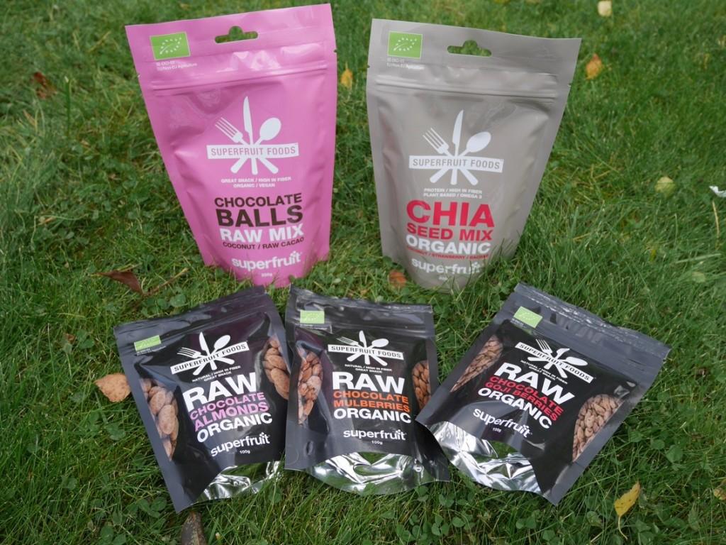 Nya produkter från Superfruit