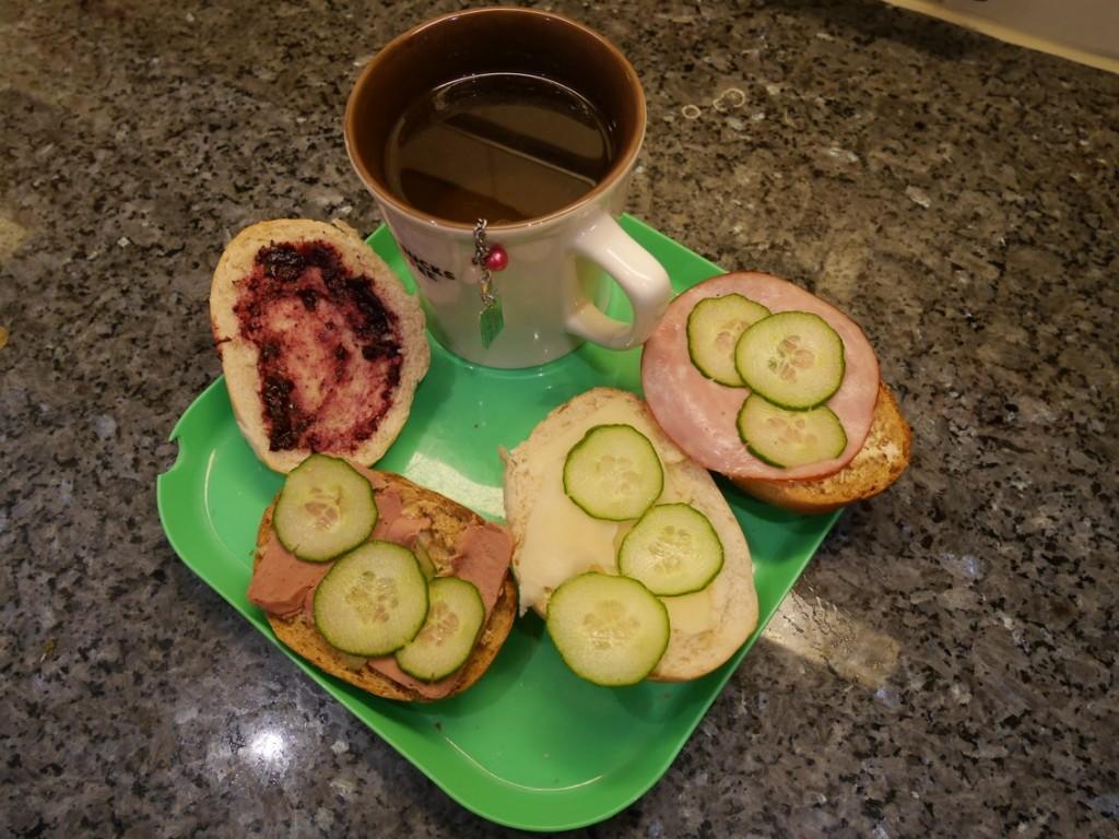 En härlig lördagsfrukost!