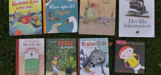 Samtliga böcker som ingår i årets Bok Happy Meal 2016