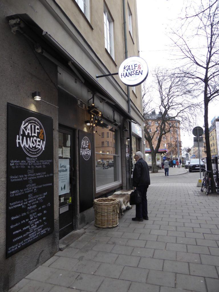 Kalf & Hansens senaste restaurangtillskott i Vasastan.