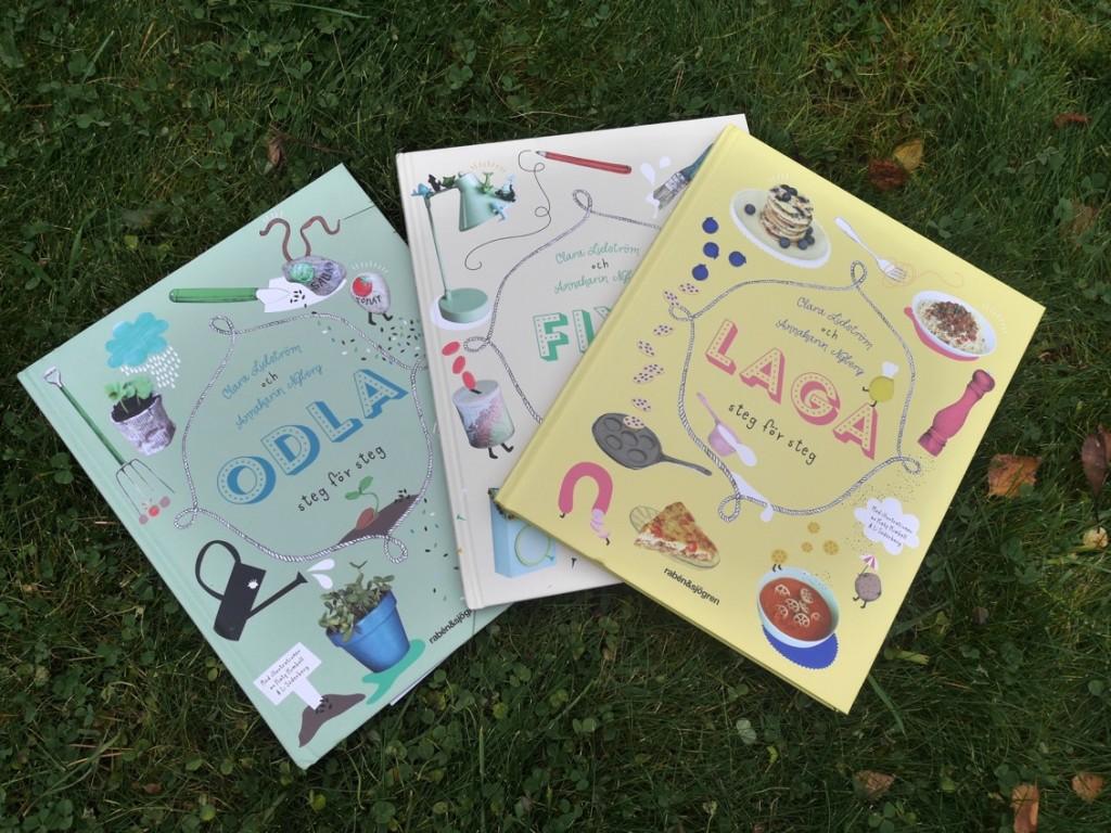 Böcker som uppmuntrar barnens kreativitet!