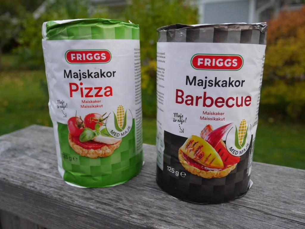 Smakrika majskakor från Friggs