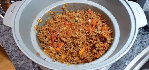 Inled 2019 med en god och hälsosam köttfärssås i Crock Pot