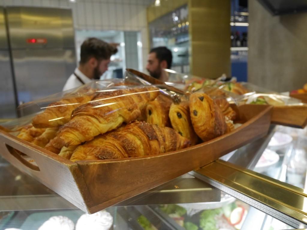 Kunde inte motstå dessa croissanter!