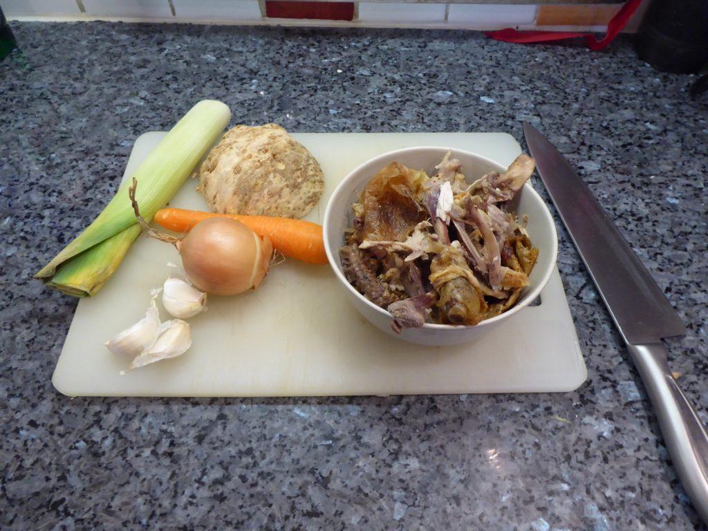 Dags att göra Mustig kycklingbuljong i Crock Pot