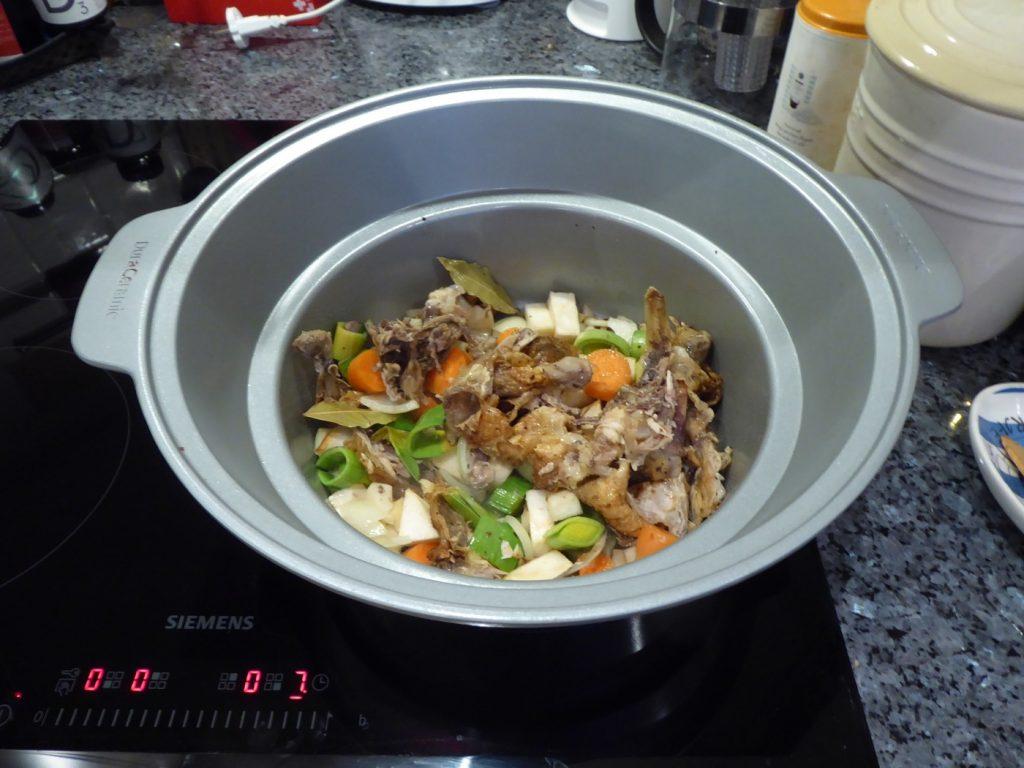Fräs innan tillagning i grytan på spisen eller i en stekpanna.
