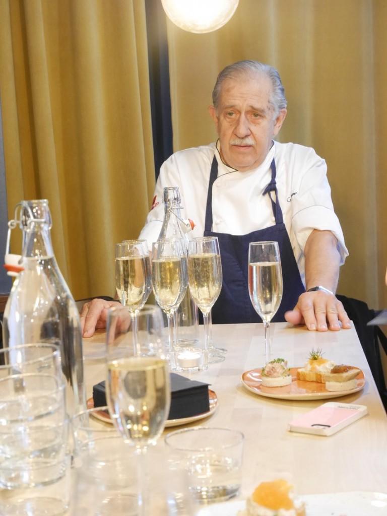 Vi får veta allt om franska kökets utveckling i Sverige och om tänket bakom Le Bistro.