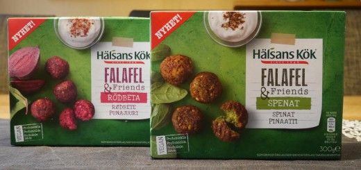 Veganska Falafel & Friends.