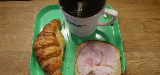 Bland det godaste jag ätit i croissantväg!