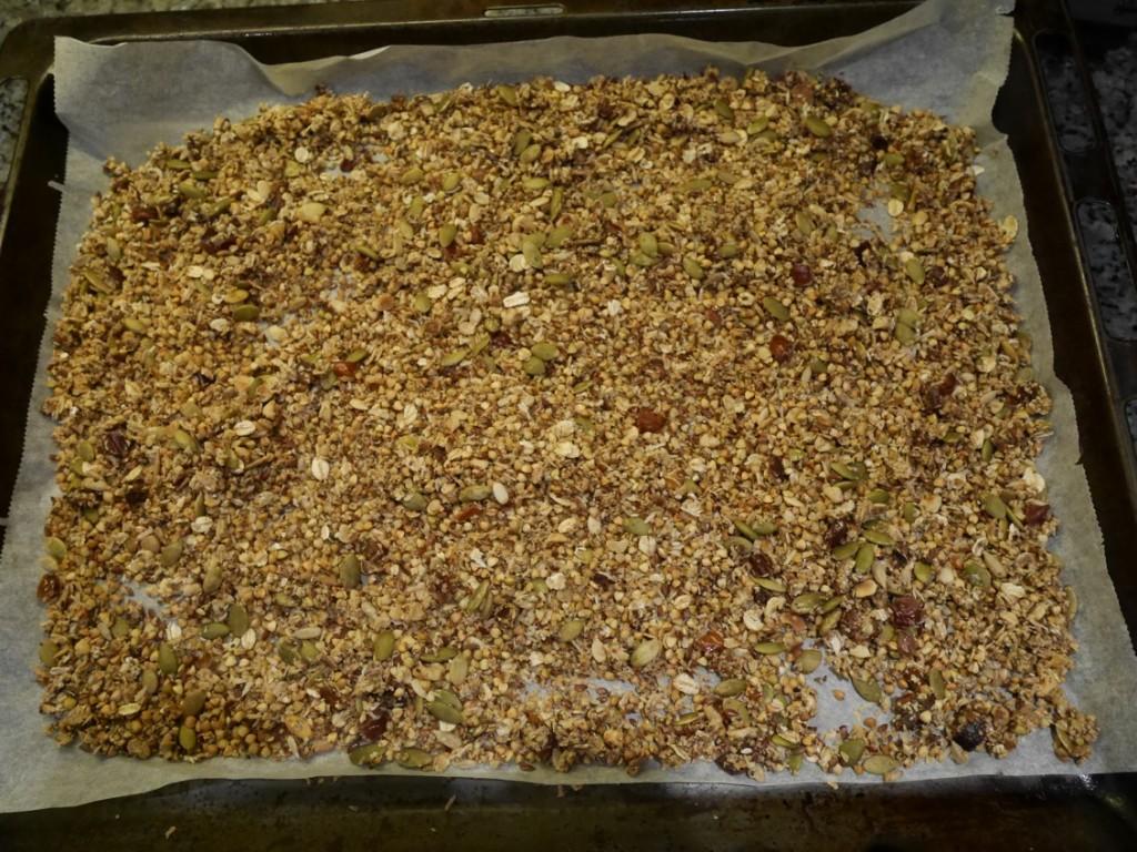 Hemgjord granola