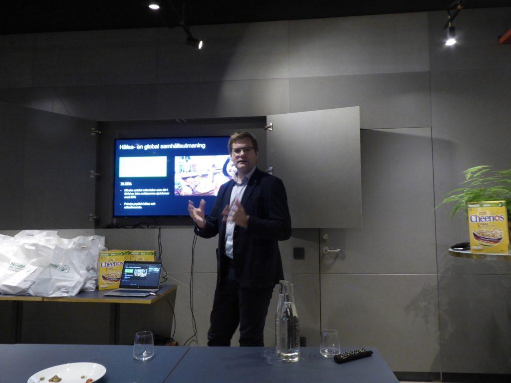Rikard Landberg, professor i Food and Health vid Chalmers tekniska högskola