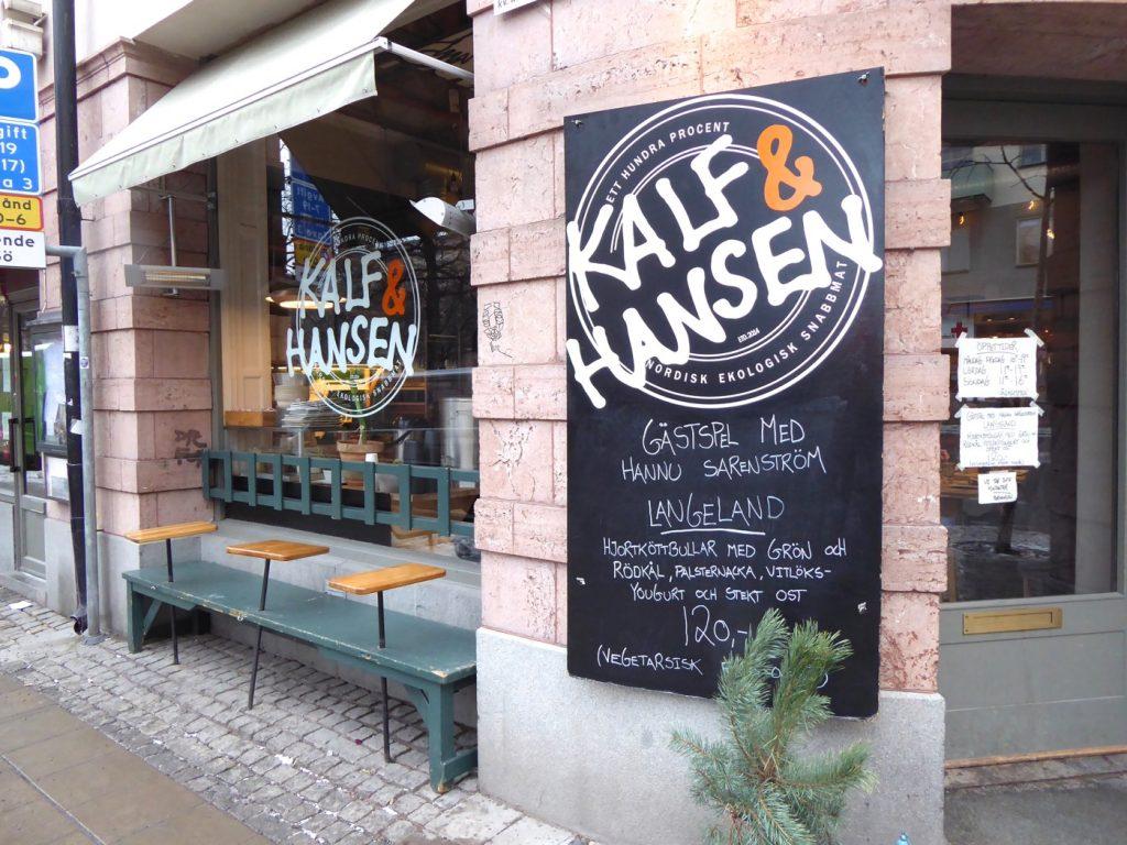 Hannu Sarenström gästspelar på Kalf & Hansen