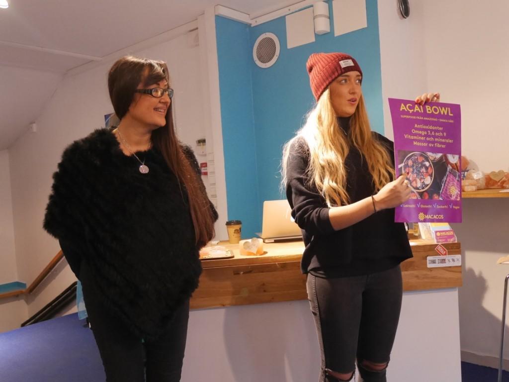 Andrea och Camille från Macacos berättar om sina bowls och superbär.