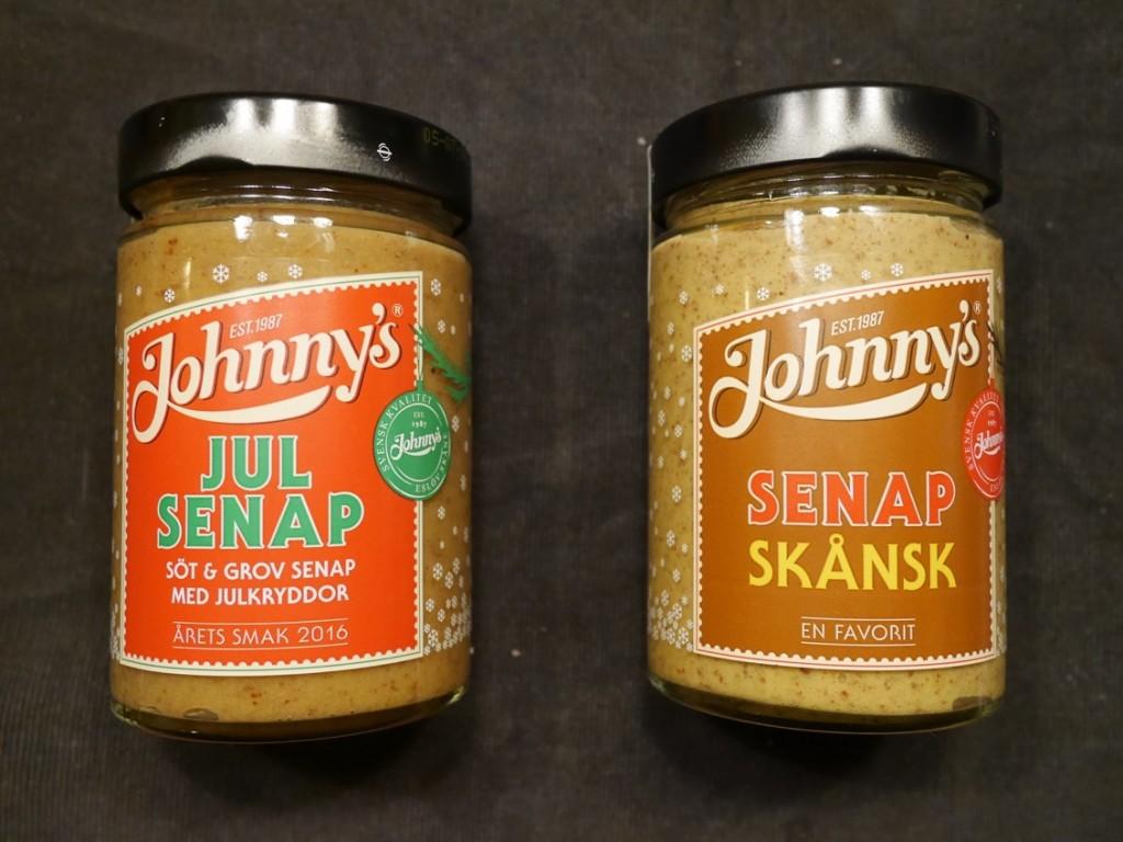 Johnny's Julsenap och Johnny's Senap Skånsk