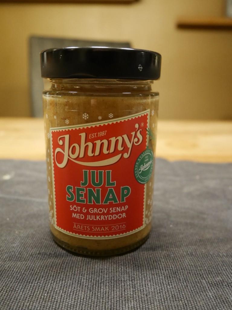 Kryddig julsenap från Johnnys