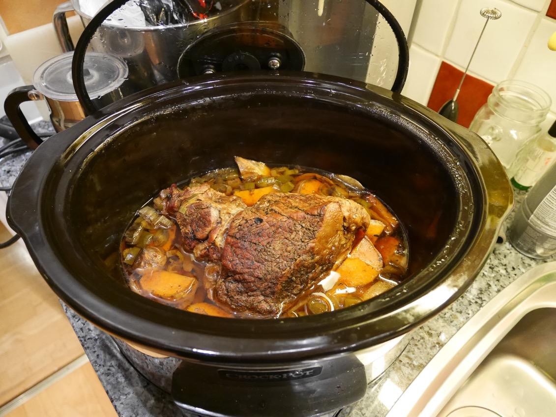 slow cooker recept nötkött