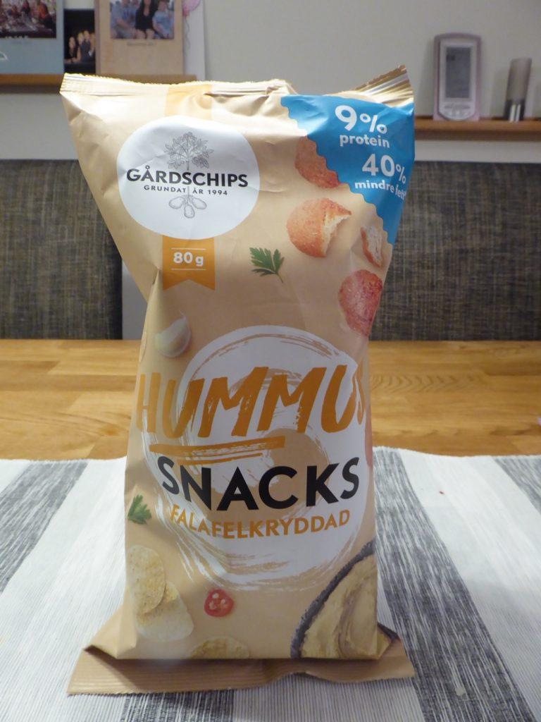 Hummus-snacks, Falafelkryddad