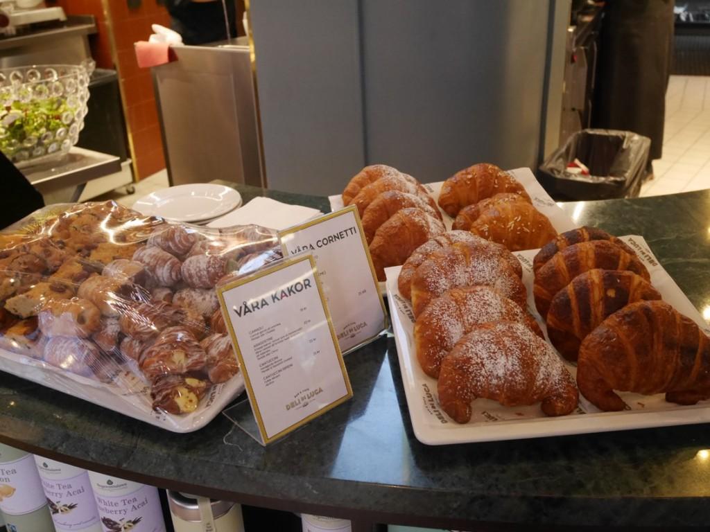 Färska, nybakade croissanter är bland det bästa jag vet!
